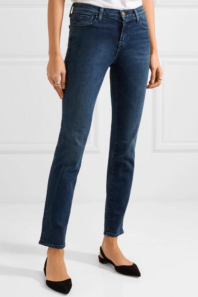 J Brand Maude halbhohe Jeans mit schmalem Bein
