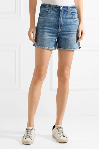 Distressed denim shorts J Brand Uuta4VYr9