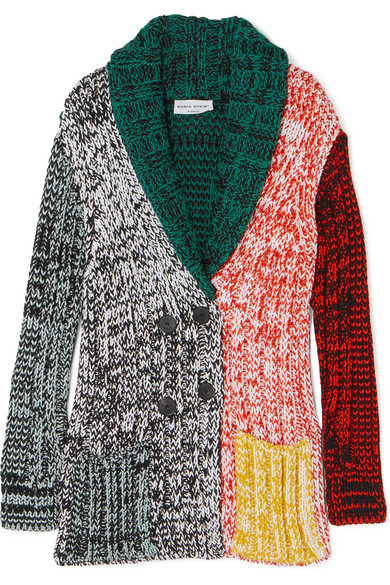 Sonia Rykiel - Crochet-knit Cardigan - Green
