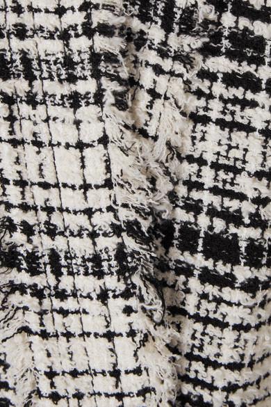 Sonia Rykiel Tweed-Mantel aus einer Baumwollmischung mit Bindegürtel Finish Günstiger Preis Aus Deutschland Günstig Online Billig Verkaufen Hochwertige Freiheit Genießen Online-Shopping Günstigen Preis OgHSKG7b