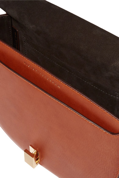 Victoria Beckham Half Moon Box Schultertasche aus Leder in Colour-Block-Optik Günstig Kaufen Lohn Mit Paypal Rabatt Veröffentlichungstermine Günstige Spielraum Verkauf Wiki HHu6j