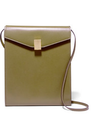 Postino leather shoulder bag
