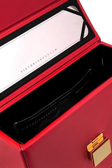 Das Beste Geschäft Zu Bekommen Rabatt Sehr Billig Victoria Beckham Vanity Tote aus Leder Rabatt Komfortabel 100% Authentisch Freies Verschiffen Fabrikverkauf 09nW4KM