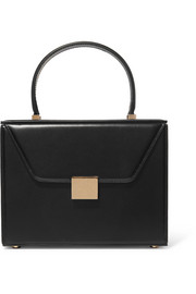 Vanity leather tote