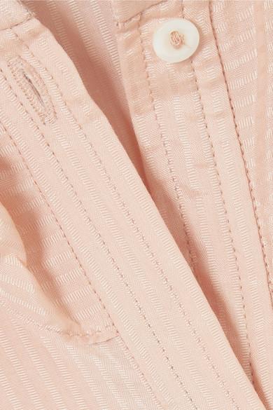 A.P.C. Atelier de Production et de Création Josephine Bluse aus Voile aus einer Baumwoll-Seidenmischung mit Rüschen