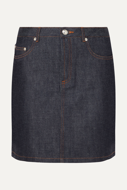 A.P.C. Atelier de Production et de Création Standard denim mini skirt