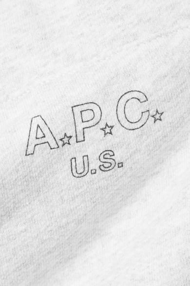 A.P.C. Atelier de Production et de Création Cheer Jogginghose aus Frottee aus einer Baumwollmischung