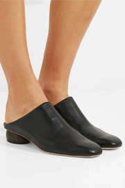 Gaby leather mules