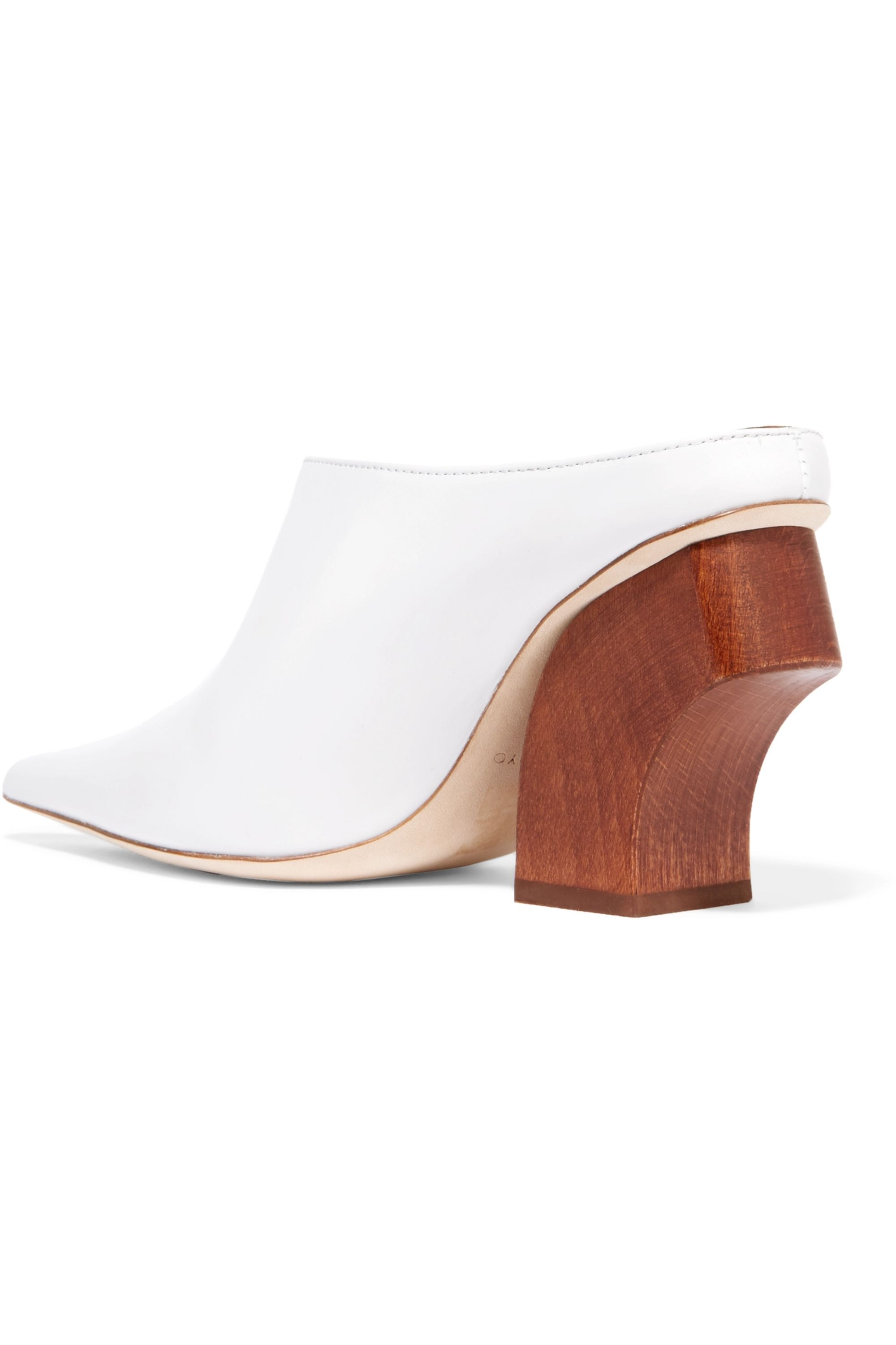 REJINA PYO Yasmin leather mules