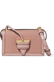 Loewe Barcelona small textured-leather shoulder bag