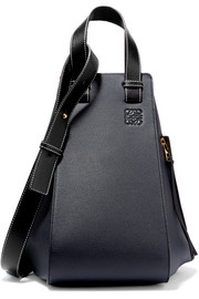 Loewe Hammock textured-leather shoulder bag