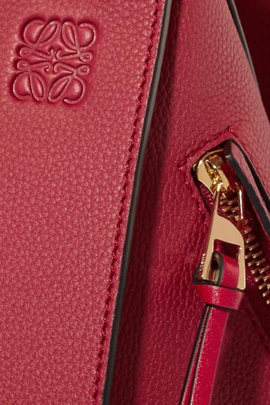 Loewe Hammock Schultertasche aus strukturiertem Leder Billig Verkauf Am Besten oFWYRBjm