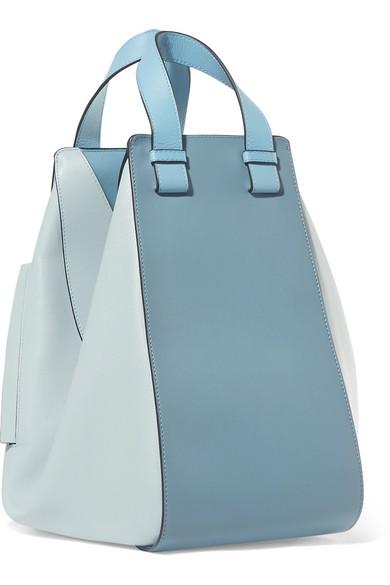Angebote Äußerst Loewe Hammock Schultertasche aus strukturiertem Leder in Colour-Block-Optik Freies Verschiffen Neuestes 9tigKpJx