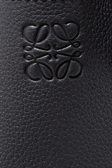 Loewe Hobo kleine Schultertasche aus strukturiertem Leder