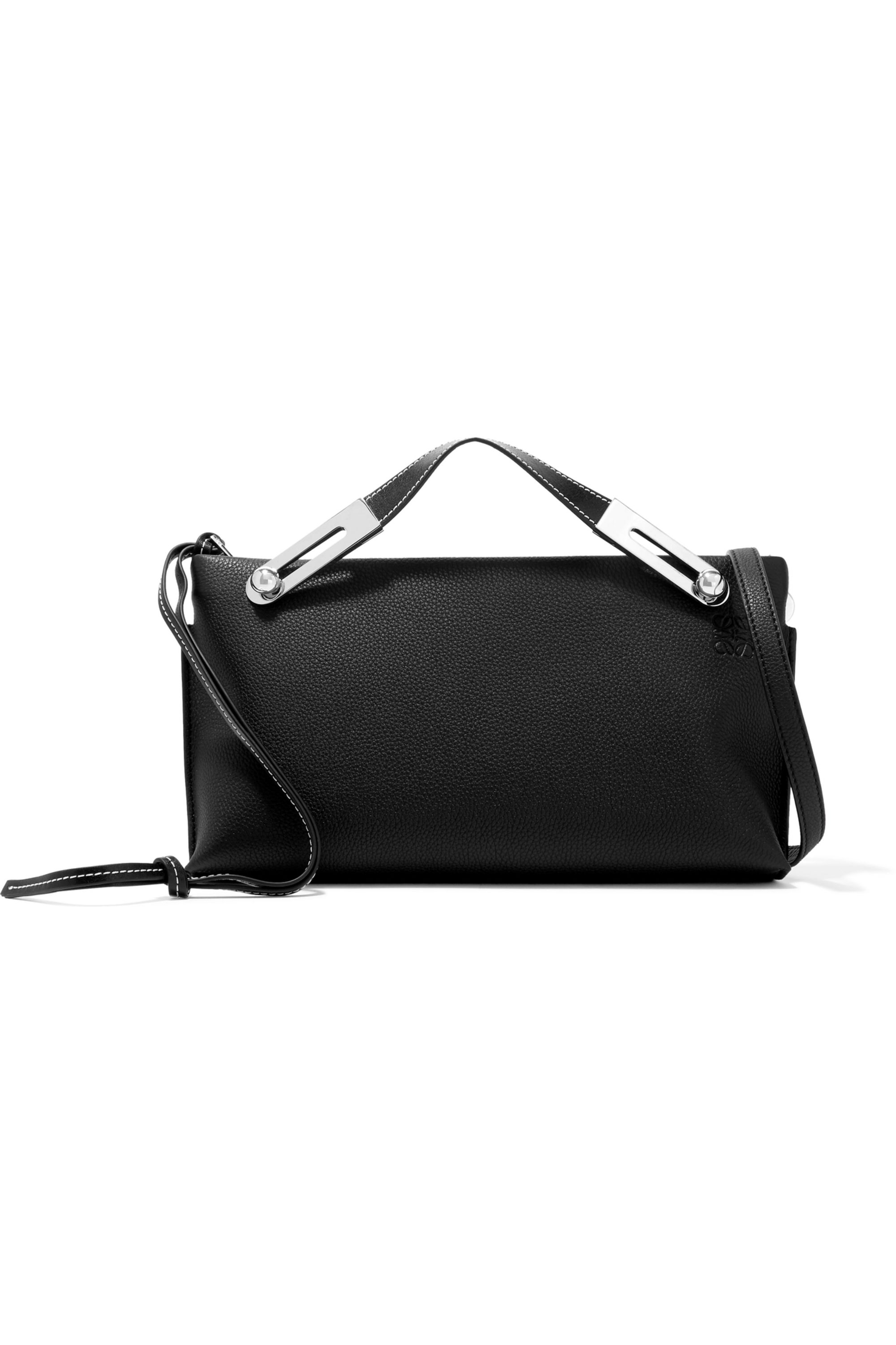 Loewe Missy small textured-leather shoulder bag