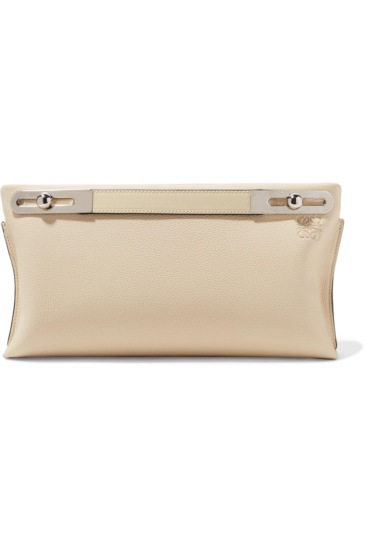 Loewe Missy small textured-leather shoulder bag
