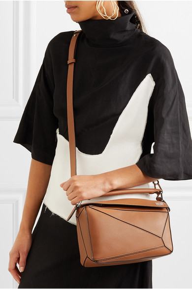 3b81dfddd83a Loewe | Puzzle small leather shoulder bag | NET-A-PORTER.COM