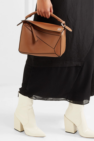 c7b2c36babb4 Puzzle small leather shoulder bag