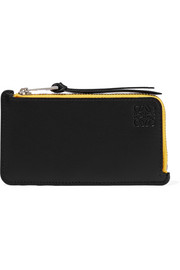 Loewe Color-block leather cardholder