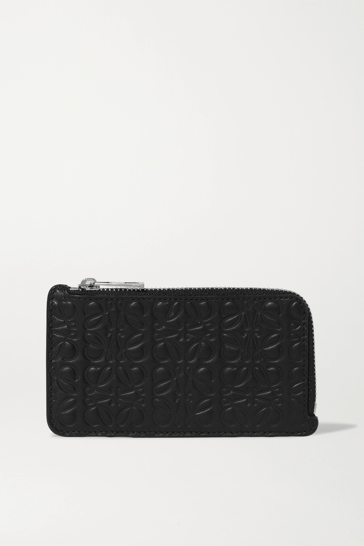 Loewe Embossed leather cardholder