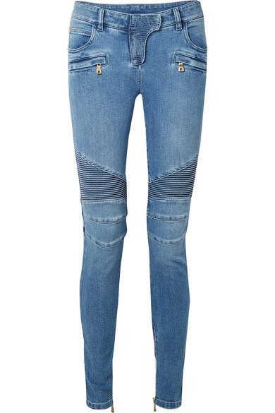 Balmain Halbhohe Skinny Jeans