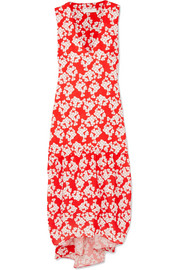 Zelda floral-print crepe maxi dress