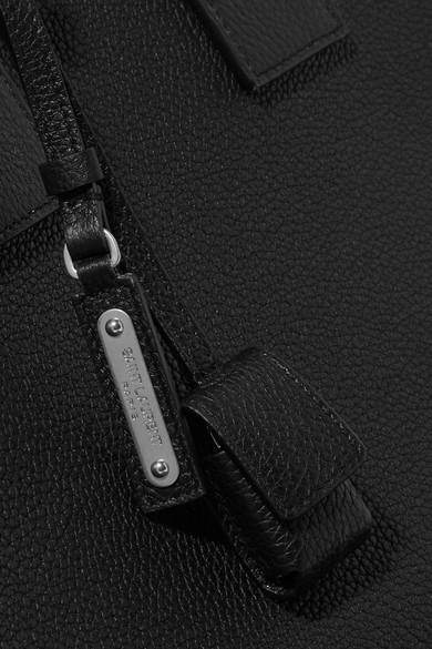 Saint Laurent Totes Sac De Jour textured-leather tote