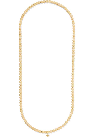 Carolina Bucci - 18-karat Gold Beaded Necklace