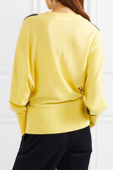 Victoria, Victoria Beckham Wollpullover mit Streifen
