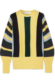 Victoria, Victoria Beckham Striped wool sweater