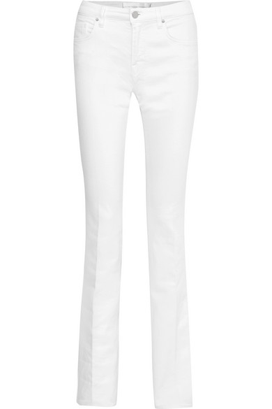 Victoria, Femme Victoria Beckham Jeans Bootcut Grande Hauteur Blanc Taille 26 Victoria Beckham