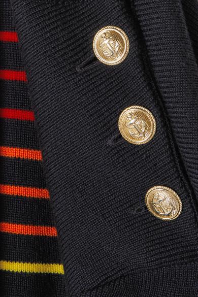JW Anderson Gesteifter Wollpullover mit Stickerei
