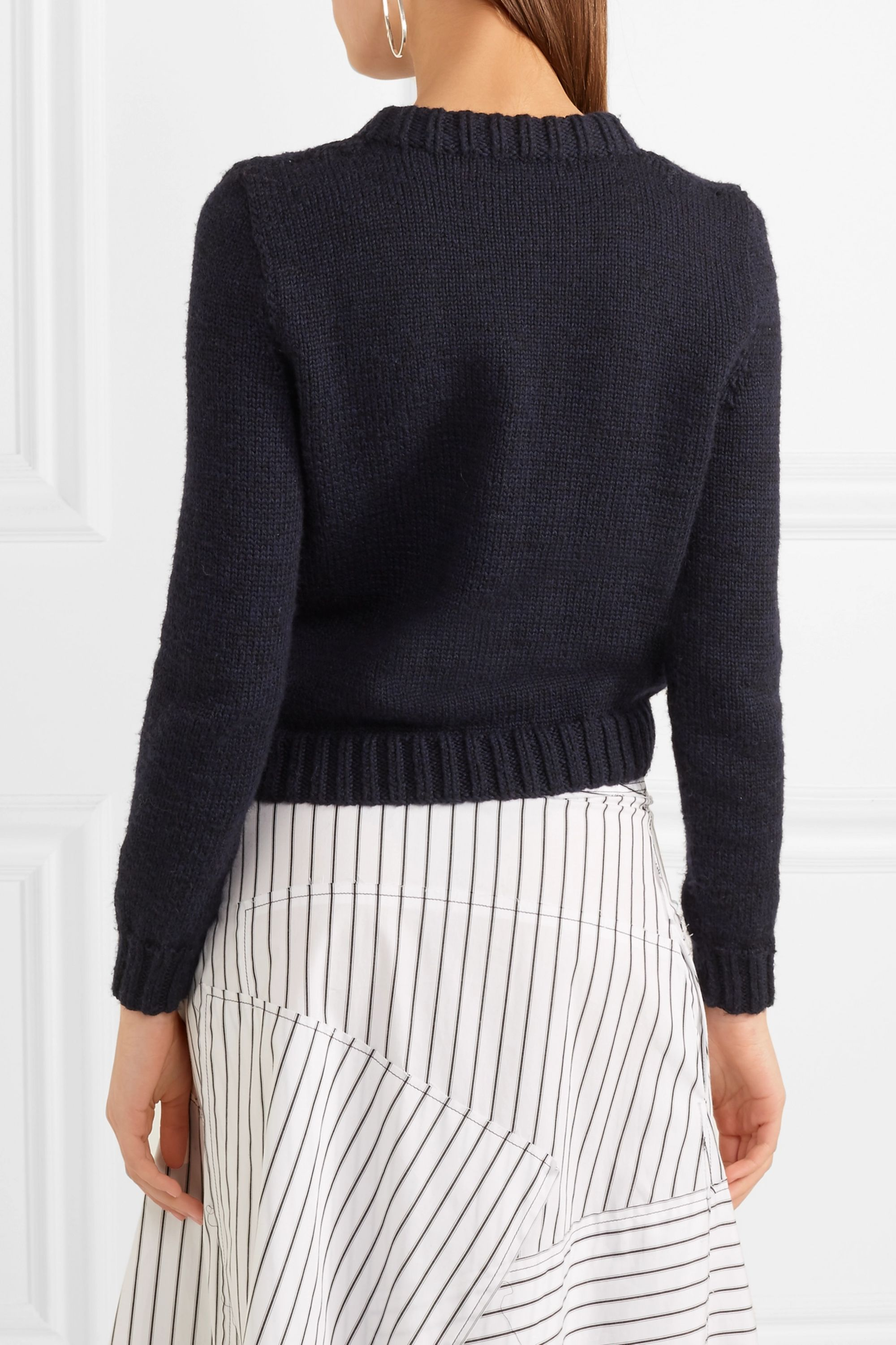 JW Anderson Intarsia wool sweater