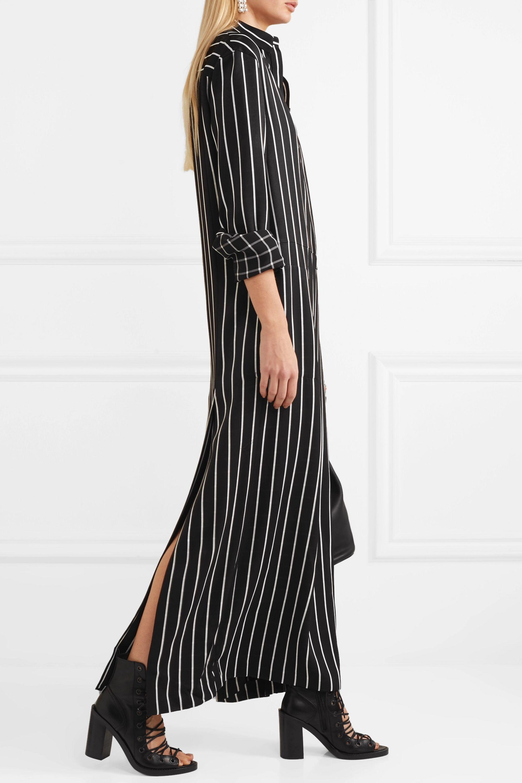 Haider Ackermann Striped cotton maxi dress