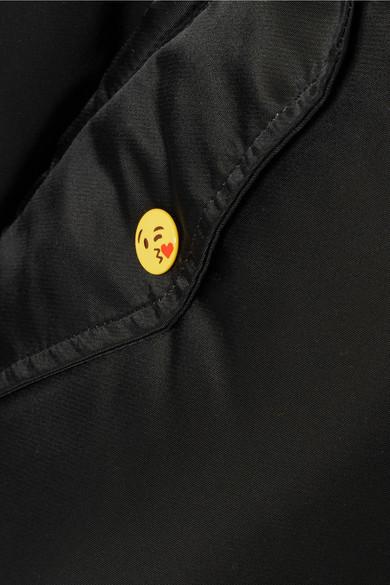Vetements Wendbare Bomberjacke aus bedrucktem Shell
