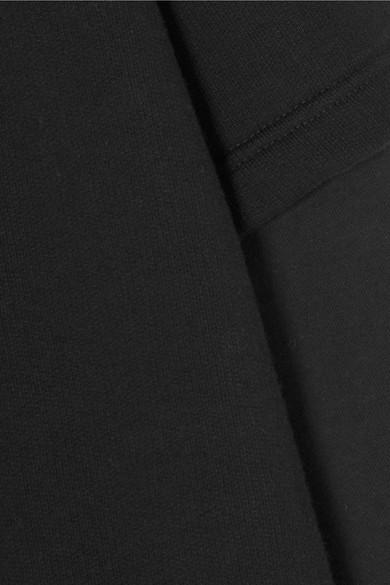 Vetements + Tommy Hilfiger mehrlagiges Kapuzenoberteil aus Baumwoll-Jersey mit Stickerei