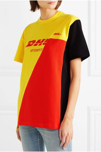 6edcde5f67d0 Vetements | Printed cotton-piqué T-shirt | NET-A-PORTER.COM