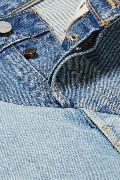 Vetements + Levi's® halbhohe Jeans mit geradem Bein