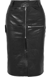 Vetements Leather skirt