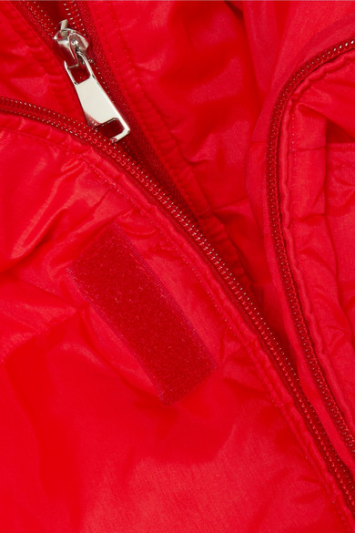 Vetements Steppjacke aus Shell in Oversized-Passform mit Applikationen