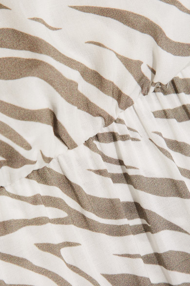 Heidi Klein Kalahari bedrucktes Maxikleid aus Voile