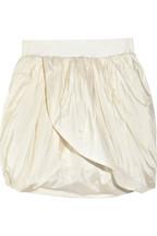 J.CrewSilk-taffeta tulip skirt