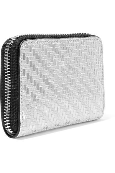 Günstig Kaufen Billigsten Christian Louboutin Panettone Portemonnaie aus Metallic-Leder mit Glitter-Finish und Nieten Billig Ausgezeichnet Sast Verkauf Online 2FHm8d