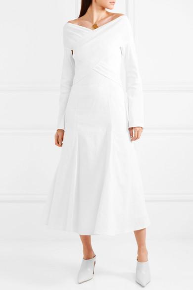 Beaufille Prima Kleid aus einer Leinenmischung mit Stretch-Anteil