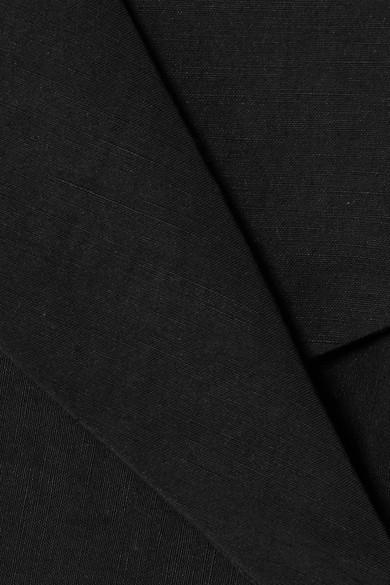 Beaufille Tora schulterfreies Oberteil aus einer Leinenmischung