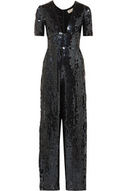 Temperley London Sequined chiffon jumpsuit