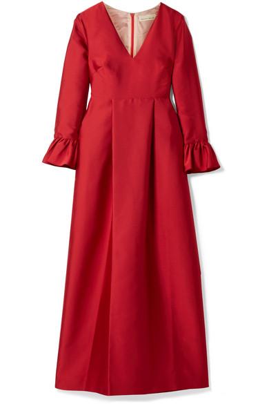 Merchant Archive Robe aus Taft
