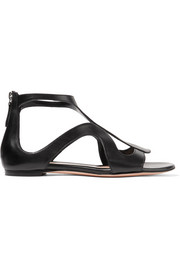 Alexander McQueen Cutout leather sandals