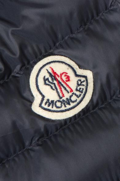 Moncler Daunenjacke aus gestepptem Shell