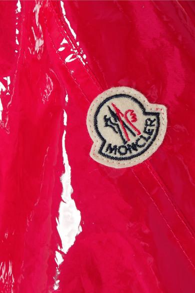Moncler Astrophy Regenmantel aus PVC